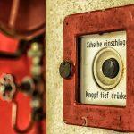 劇場の火災警報装置