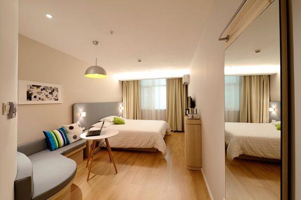 海外ホテルの部屋
