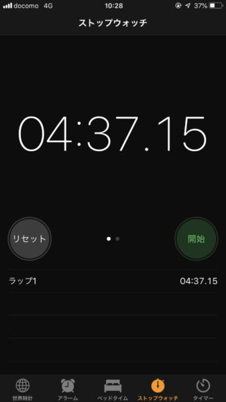 阪急梅田駅~梅田芸術劇場メインホールまでの所要時間。