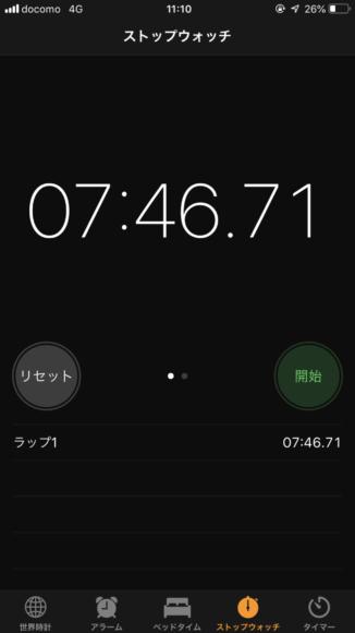 御堂筋線梅田駅から梅田芸術劇場までの徒歩所要時間実測